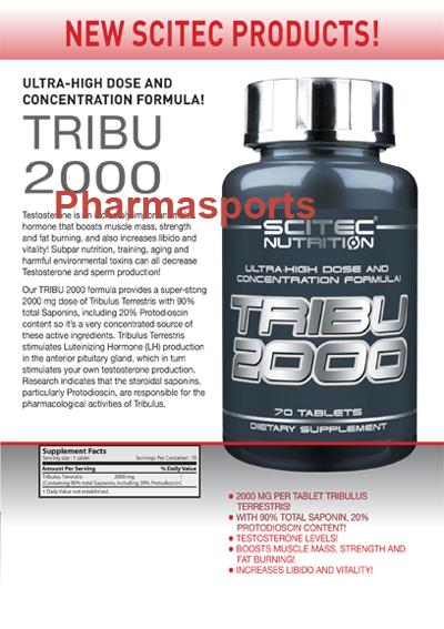 Neues Produkt von Scitec Tribu 2000 Tribulus