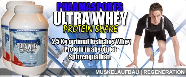 Whey Proteine für einen starken Muskelaufbau