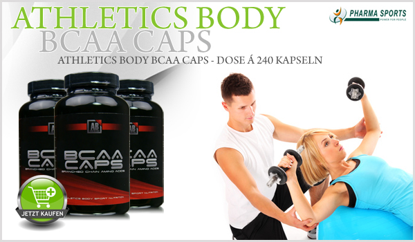 Athletics Body BCAA Caps