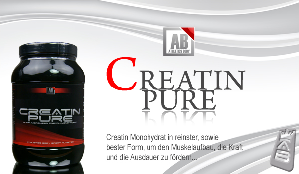 Athletics Body Creatin Pure für maximale Trainingsresultate