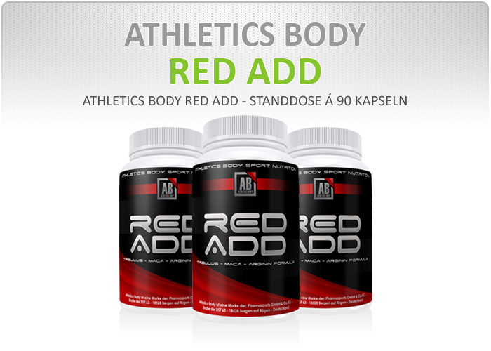 Athletics Body Red Add - Dose á 90 Kapseln