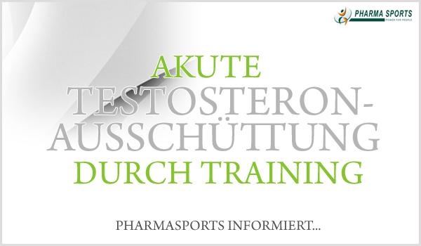 Akute Testosteronausschüttung durch Training