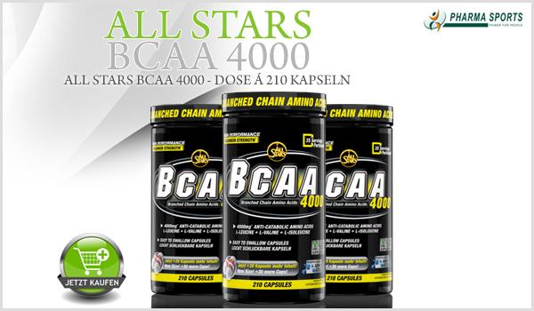 All Stars BCAA 4000 ab sofort bei Pharmasports erhältlich!