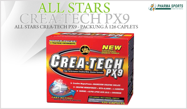 All Stars Crea-Tech PX9 - Packung á 126 Caplets