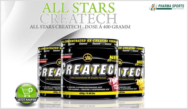 All Stars Createch – hochwertige Creatinmatrix neu bei Pharmasports