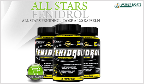 FENIDROL - Thermogenic-Supplement von ALL STARS im Angebot bei Pharmasports.