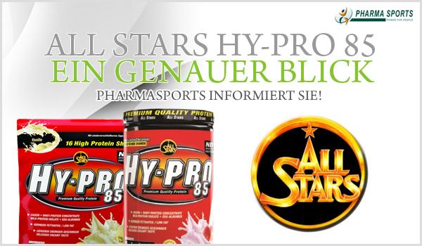 All Stars Hy-Pro 85 - ein genauer Blick