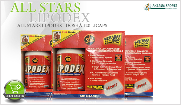 All Stars Lipodex - Dose á 120 Licaps