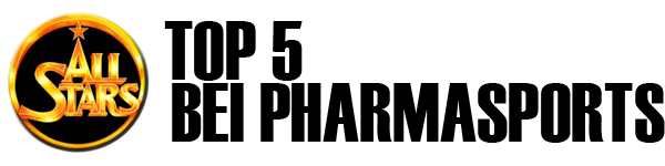 All Stars TOP 5 bei Pharmasports