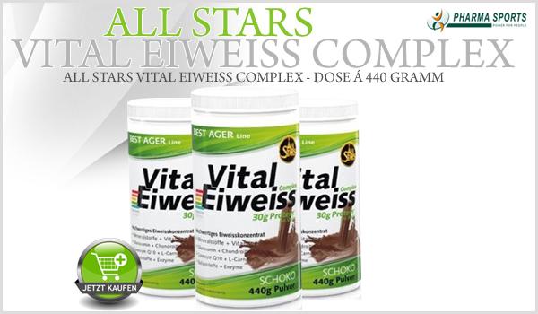 NEU: All Stars Vital Eiweiss Complex nun auch bei Pharmasports!