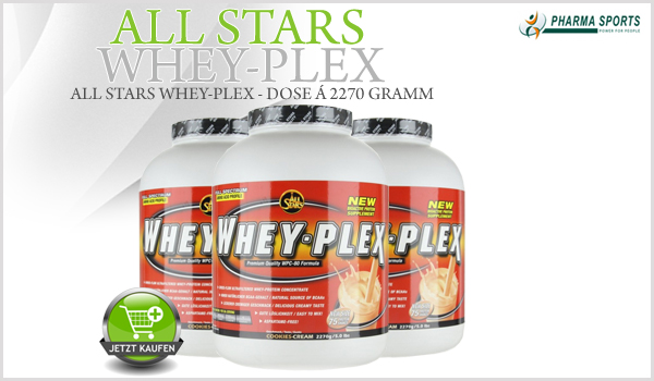 All Stars Whey Plex bei Pharmasports