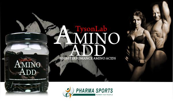 TysonLab Amino Add und das Training kann beginnen!
