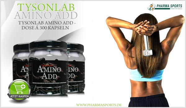 TysonLab Amino Add bei Pharmasports