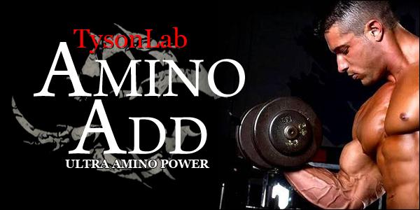 TysonLab Amino Add für fettfreie Muskelmasse