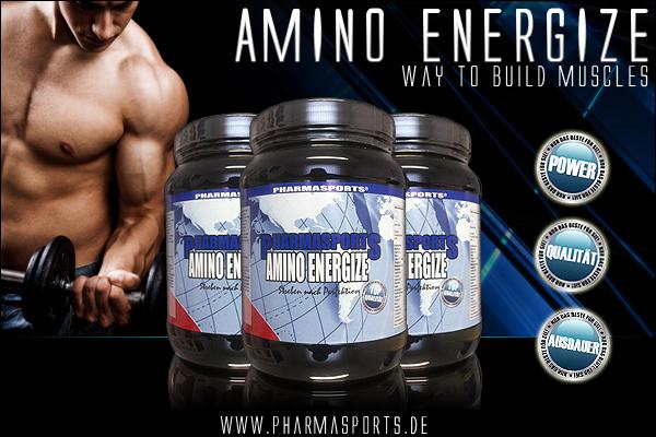 Pharmasports Amino Energize - was Muskeln benötigen!