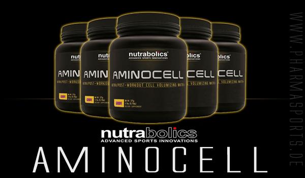 Nutrabolics AminoCell für mehr Muskelmasse und Kraft