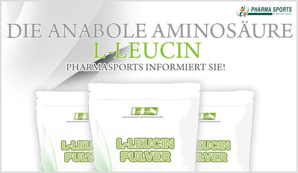 Die anabole Aminosäure L-Leucin