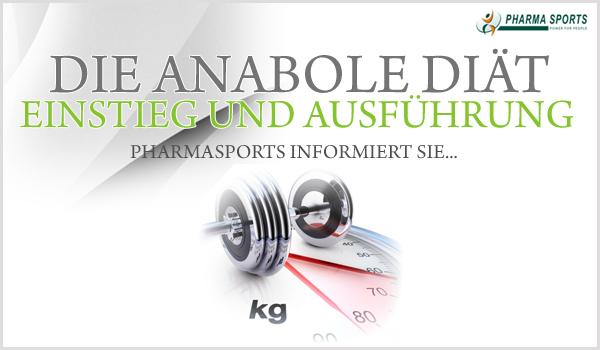 Einstieg und Ausführung der anabolen Diät