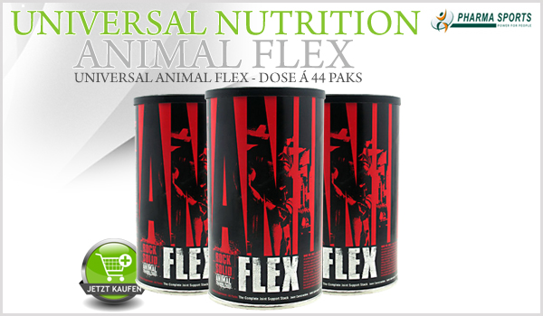 Universal Nutrition Animal Flex ab sofort bei Pharmasports bestellen!