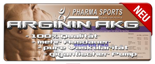 Pharmasports Arginin AKG bald da!