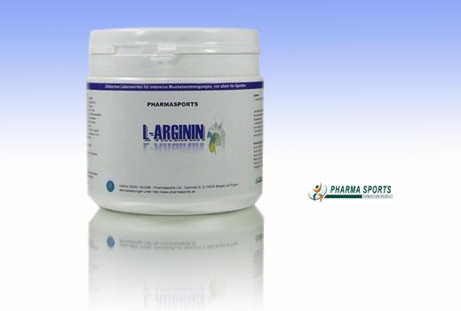 Pharmasports L-Arginin für guten Pump und guten Muskelaufbau