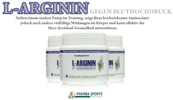 L-Arginin um für einen gesenkten Bluthochdruck zu sorgen