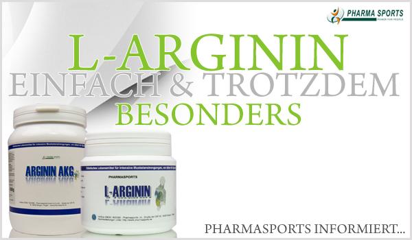 L-Arginin - einfach und trotzdem besonders