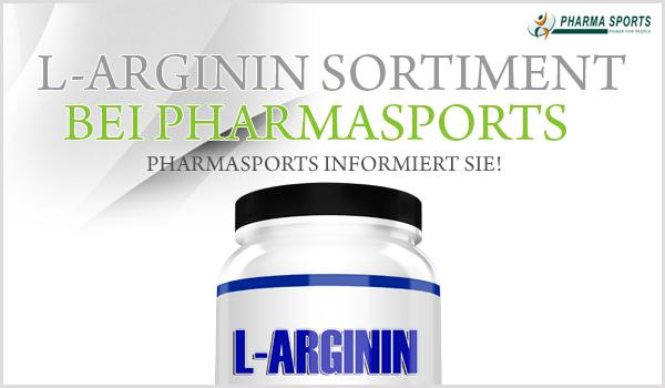 L-Arginin Sortiment bei Pharmasports