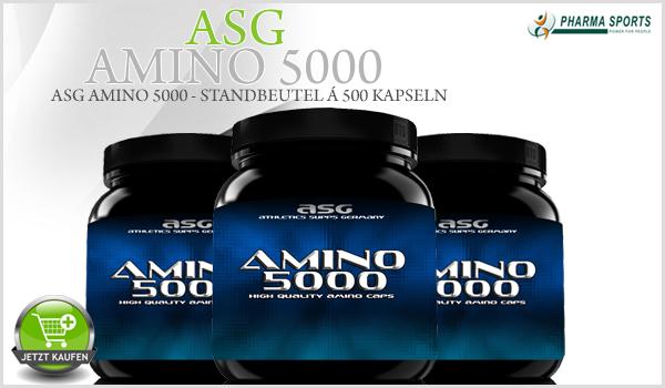 Neue Amino's bei Pharmasports - ASG Amino 5000
