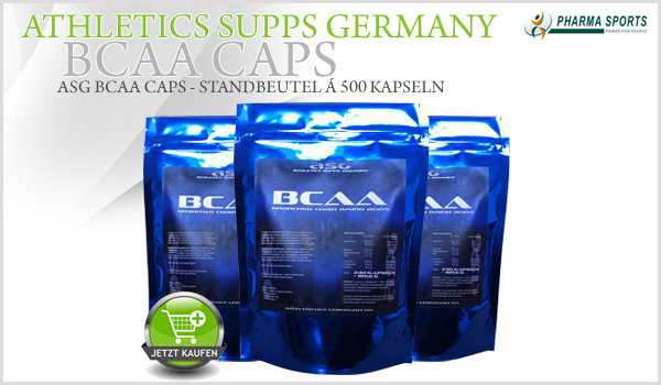 ASG BCAA Caps