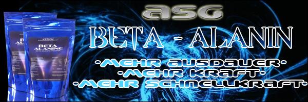 ASG Beta Alanin jetzt auch bei Pharmasports