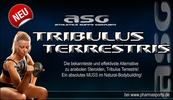 ASG Tribulus Terrestris Caps nun auch bei Pharmasports