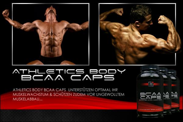 Athletics Body BCAA Caps für starke Trainingsergebnisse