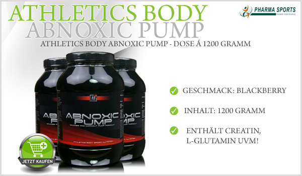 Athleticsbody Abnoxic Pump - Dose á 1200 Gramm