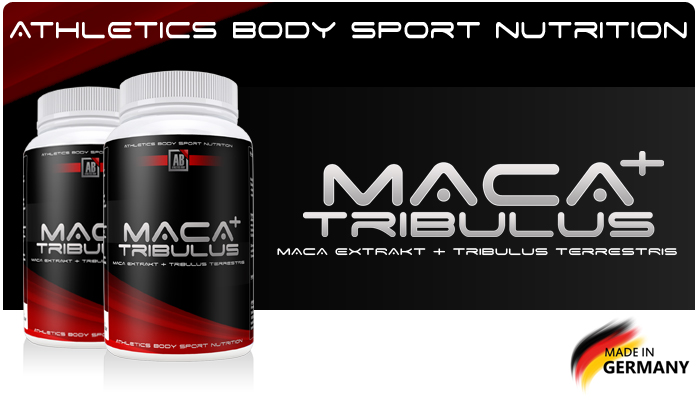 Athletics Body Maca + Tribulus