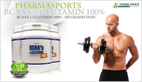 Pharmasports BCAA's + Glutamin 100%