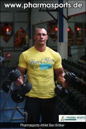 Pharmasports Spitzen-Athlet Ben Bröker