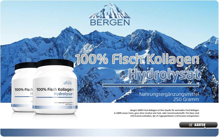 Bergen 100% Fisch Kollagen