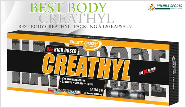 NEU im Sortiment - Best Body Creathyl!