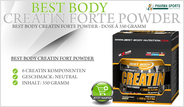Best Body Creatin Forte Powder bei Pharmasports