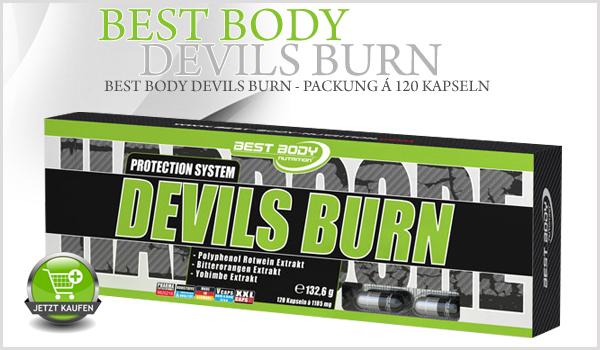 Best Body Nutrition Devils Burn ein neues High-Level Diet-System! Burner Devils Burn