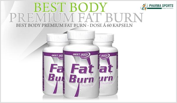 Best Body Premium Fat Burn nun auch bei Pharmasports