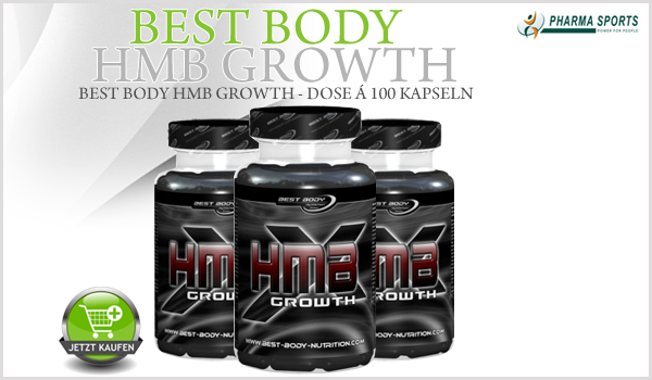 Best Body HMB Growth - Dose á 100 Kapseln