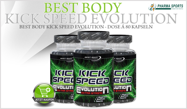 Best Body Speed Kick - Dose á 80 Kapseln