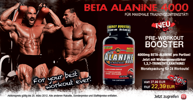 BETA-ALANINE 4000 AllStars Beta-alanin plus Koffein