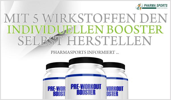 Mit 5 einfachen Wirkstoffen zum individuellen Booster