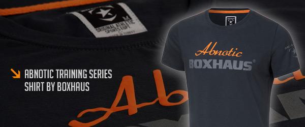 Boxhaus Abnotic Training Shirt jetzt auch bei Pharmasports