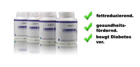 L-Carnitin Kapseln von der Firma Pharmasports