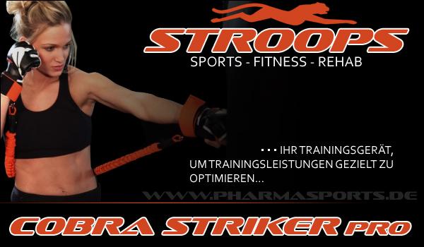 Stroops Cobra Strike Pro für mehr Power und Schlagkraft