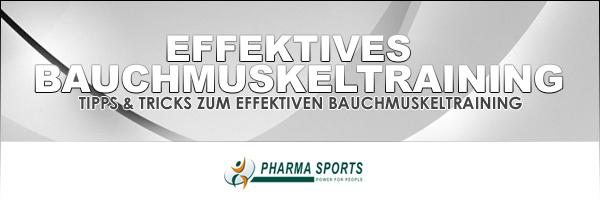 Ideales Bauchmuskeltraining bei Pharmasports